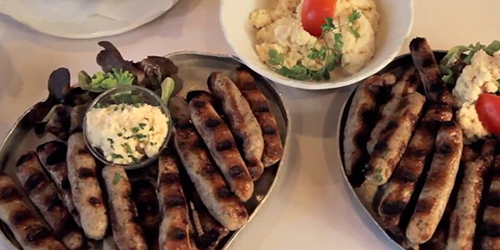 Cooking with Karine: Bratwurst