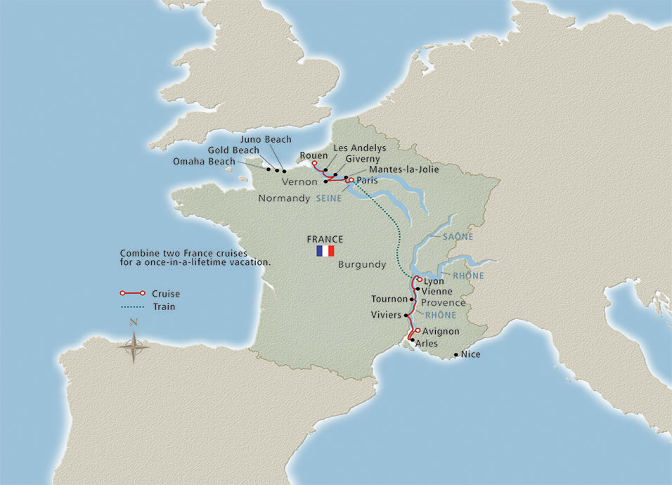 Seine River On Map Of Europe.Seine River Cruises Viking River Cruises