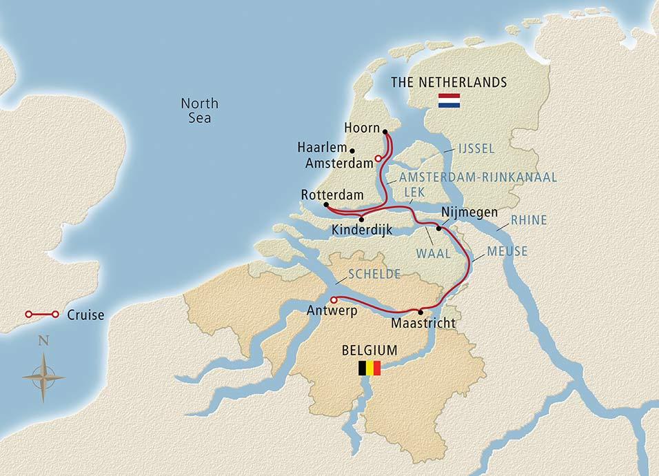 Holland Amp Belgium Amsterdam Antwerp River Cruise
