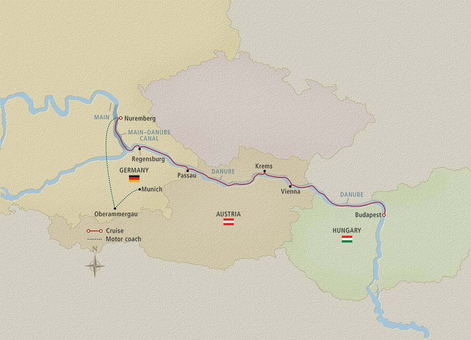 Oberammergau the Passion Play Map