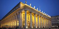 Opera National building in Bordeaux