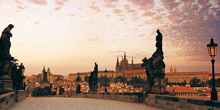 Prague sunset
