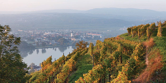 Wachau by the Danube, Austria