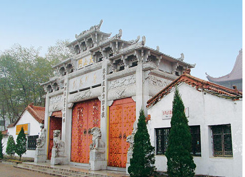 Mt Jiuhua Temple, China