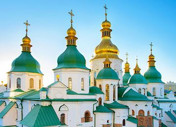 St. Sophia Cathedral in Kiev, Ukraine