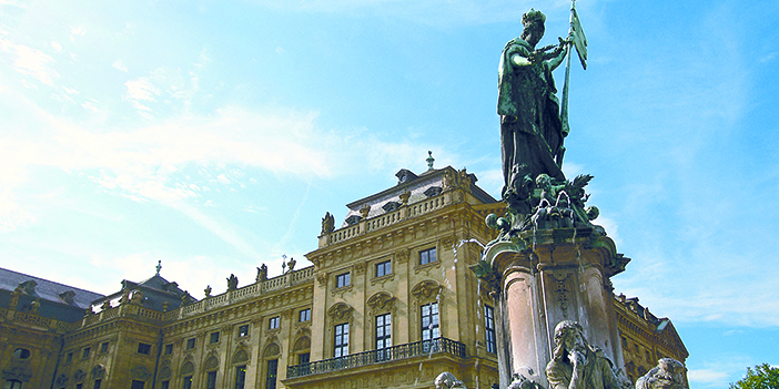 The Figure of Franconia, Würzburg Residenz