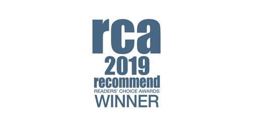 RCA 2019 winner logo