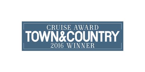 Logo of Town & Country 2016 Winner Cruise Award