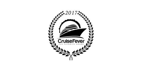 Cruise Fever Fan Favorite Award 2017 winner logo