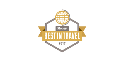 Money Magazine Best in Travel 2017 award logo