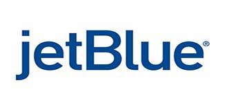 The jetBlue logo in blue on a white background.